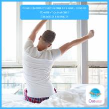 Consultation d'ostéopathie en ligne - conseil _ comment ça marche - exercices pratiques - routine matinale - Osté-eau